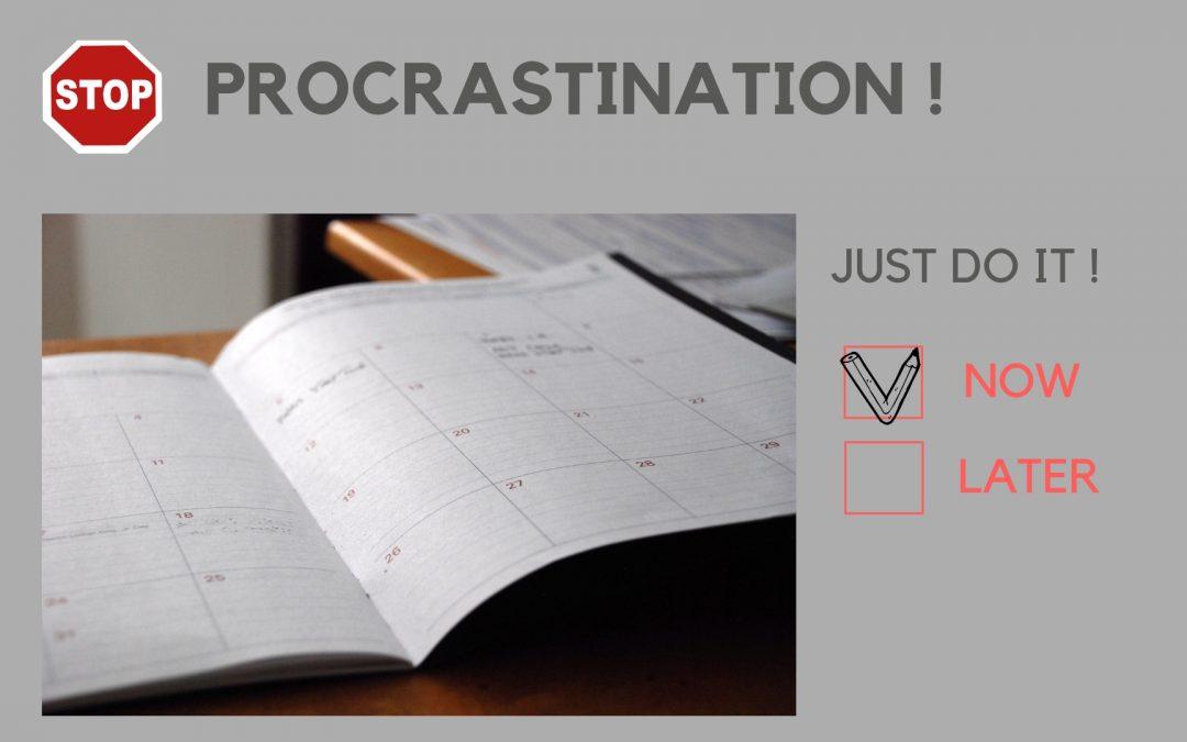 En finir avec la procrastination !